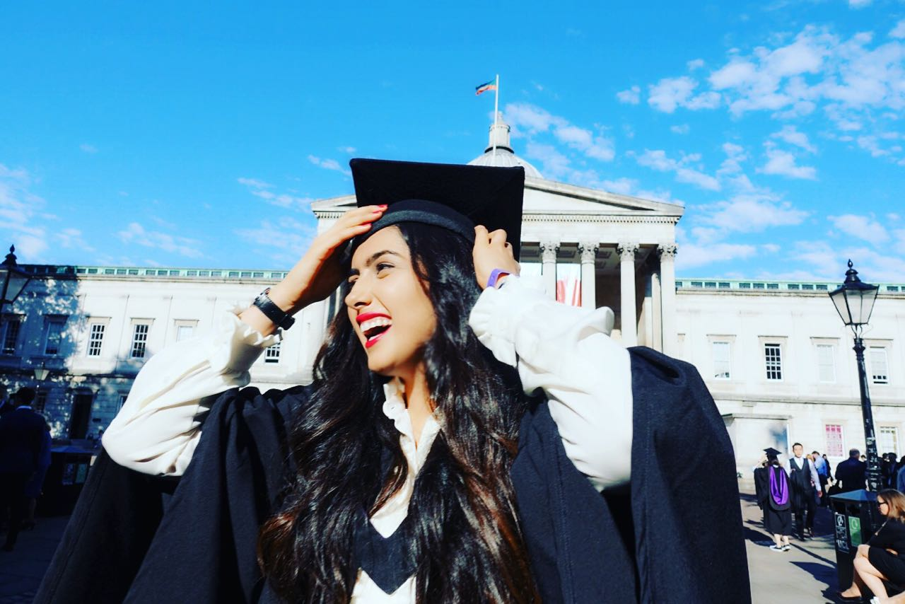 A bittersweet end to my bachelor's studies. I enjoyed every moment at UCL!