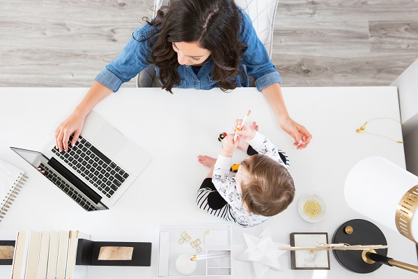 work/life balance as a full-time working mother